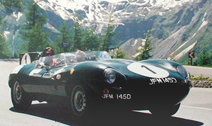 D-Type 1955,1956, 1957, Le Mans Rennen, Classic race