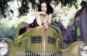 Dita von Teese Burlesque, Los Angeles , Film und Foto