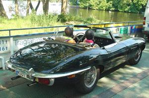 Pickniken im Grünen mit Jaguar, Classiker schenken